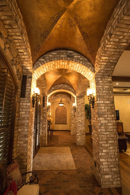 arches and interior space